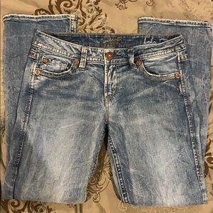 Gently Used Lola Silver Jeans W31/L31          25